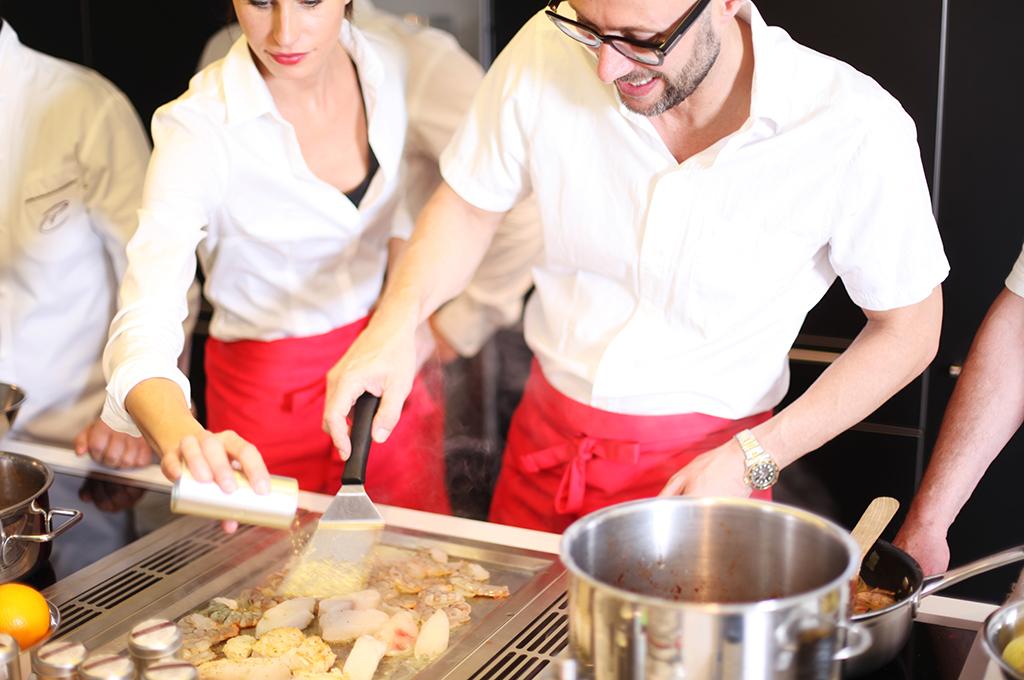Kochkurse und Kochevents in München für Gruppen individuell buchbar.