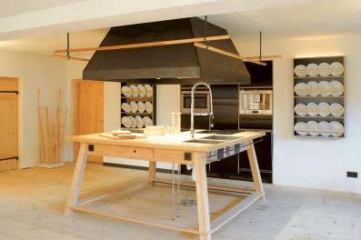 Kochen und schlafen im Gästehaus berge in Aschau im Chiemgau