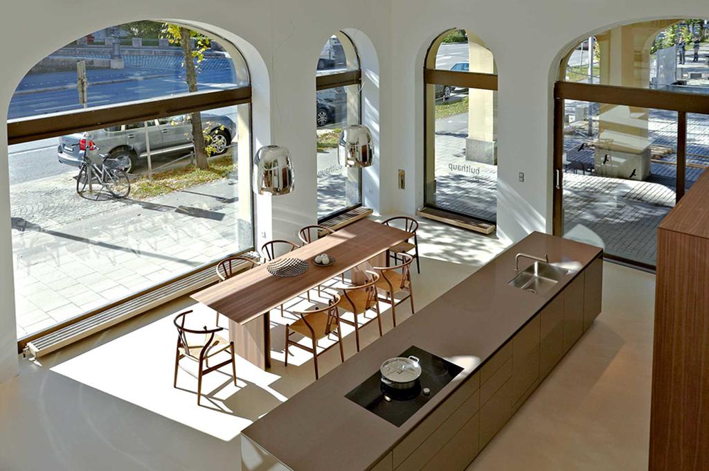 Kochkurse mit Patrick Coudert im bulthaup Küchenstudio in München