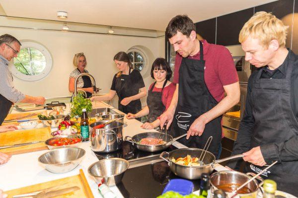 Freude beim Kochen